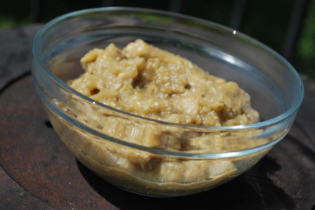 Pasta z grillowanego bakłażana