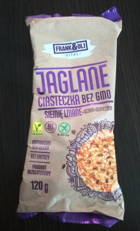 Ciasteczka jaglane bezglutenowe Frank&Oli - Inspekcja dietetyczna #1