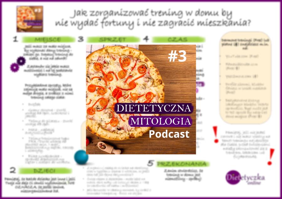 Jak zorganizować trening w domu Dietetyczna Mitologia podcast